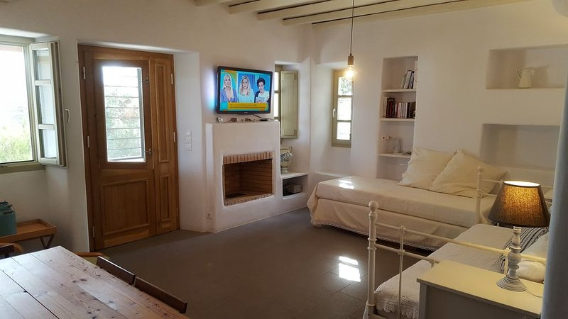 Prodromos Apartment with private parking, Ferienwohnung in Lefkes