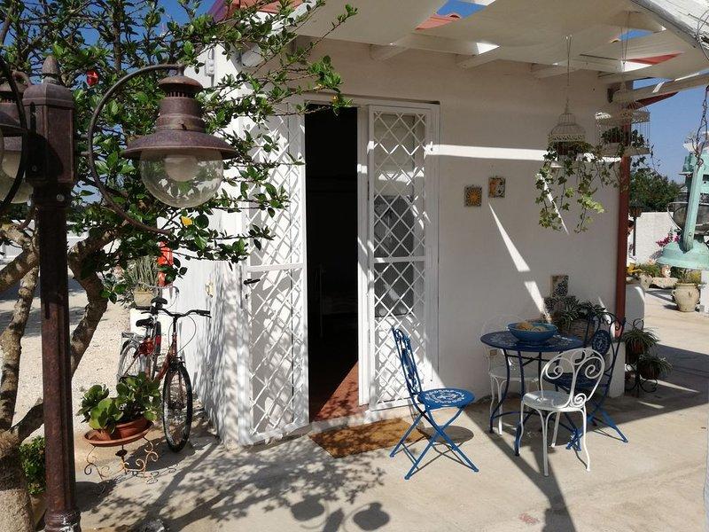 Cottage'Giardino sul mare', holiday rental in San Lorenzo
