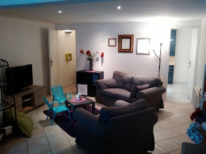 Un appartement familial, comme 'chez vous' à la campagne et très proche de Nancy, holiday rental in Chateau-Salins