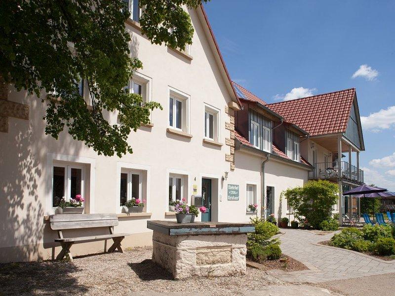 Landurlaub im schönen Bayern - das Romantische Franken lädt zum Entspannen ein, holiday rental in Kirchberg an der Jagst