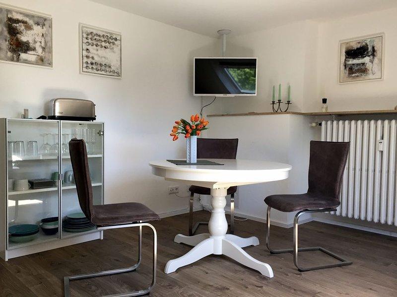 Modernes, ruhiges Nichtraucher-Apartment in Bilk, komfortabel eingerichtet, holiday rental in Düsseldorf