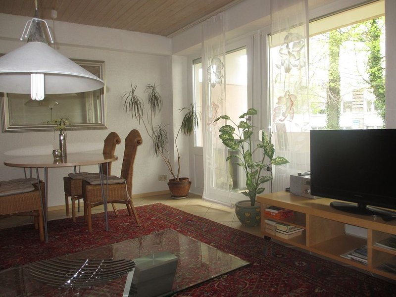 Direkte Citylage zur Fußgängerzone 250 Meter, Wohnung mit Balkon, freies W-Lan, holiday rental in Umkirch