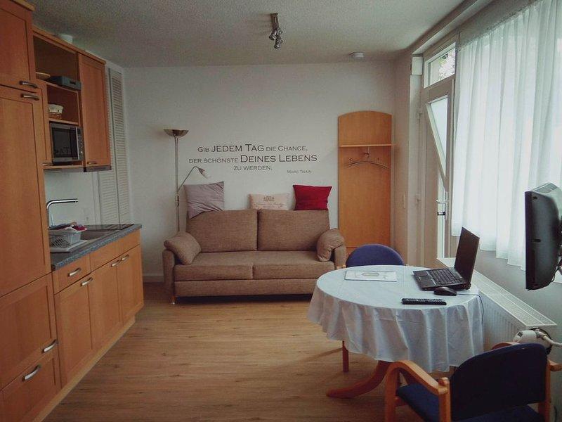 Appartement m. Garten/Terasse und guter Anbindung nach Frankfurt, holiday rental in Offenbach