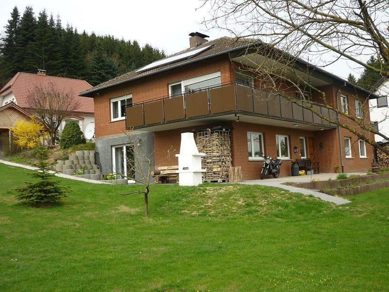 Ferienwohnung Eggeblick Veldrom, location de vacances à Steinheim