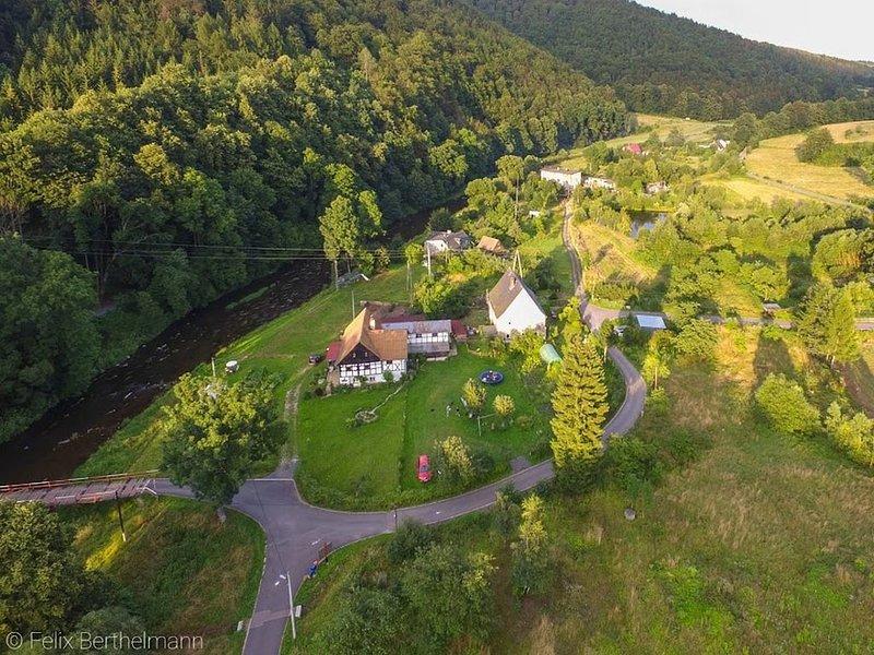 Pure Poland , süßes Heim für 4 P, in der Sie die Welt vorbeiziehen lassen können, location de vacances à Wlen