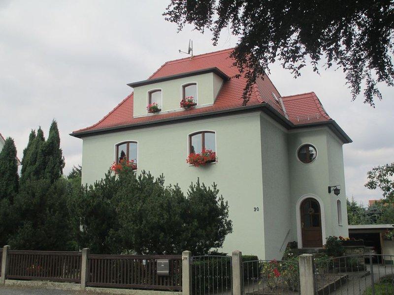 gemütliche Ferienwohnung im Südosten von Dresden, location de vacances à Dippoldiswalde