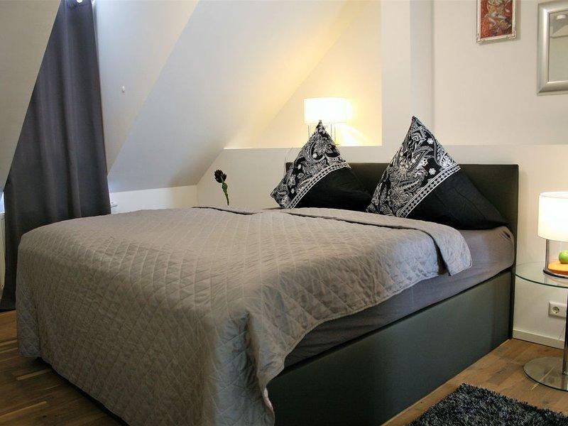 NEU! 120qm Luxusapartment über 2 Etagen direkt an der Fußgängerzone, holiday rental in Rastatt