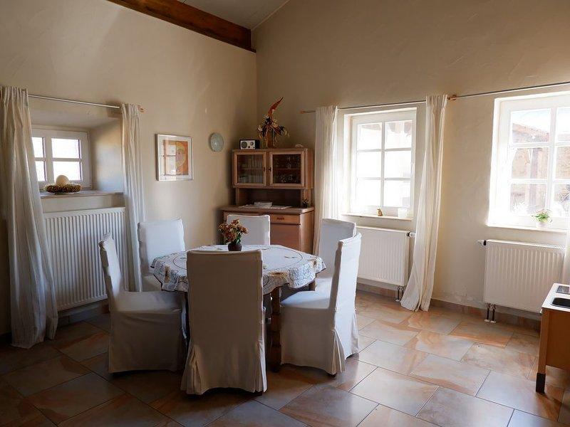 Wohnen in der Alten Burg Hersdorf, holiday rental in Prüm