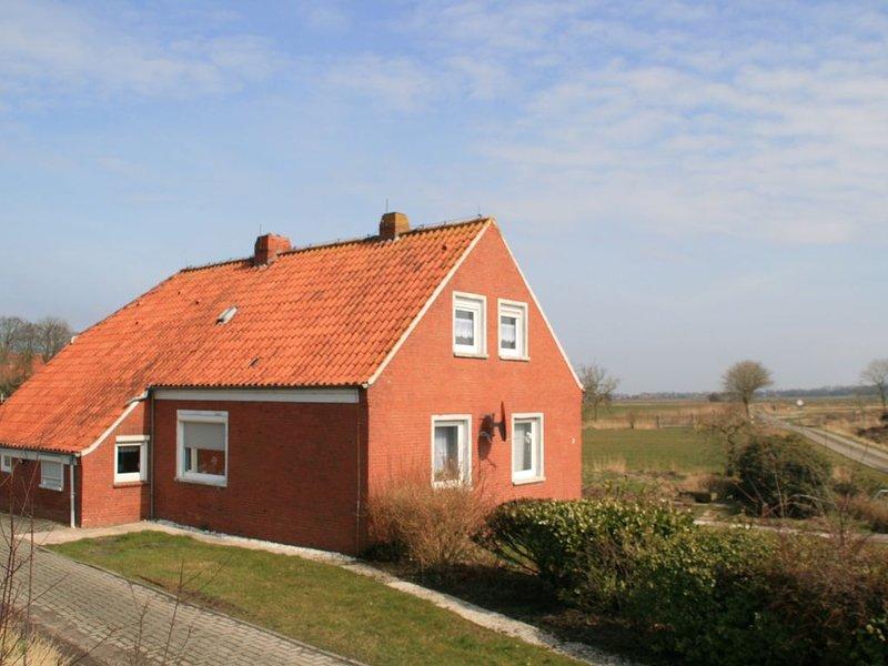 Landhaus am tiefsten Punkt der BRD, location de vacances à Emden