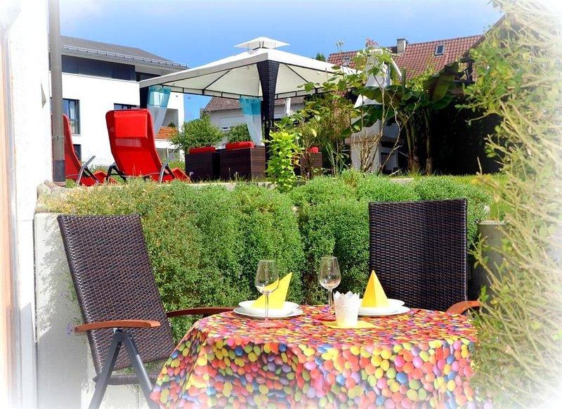 Aqua Azur Ferienwohnung am Bodensee, holiday rental in Steckborn