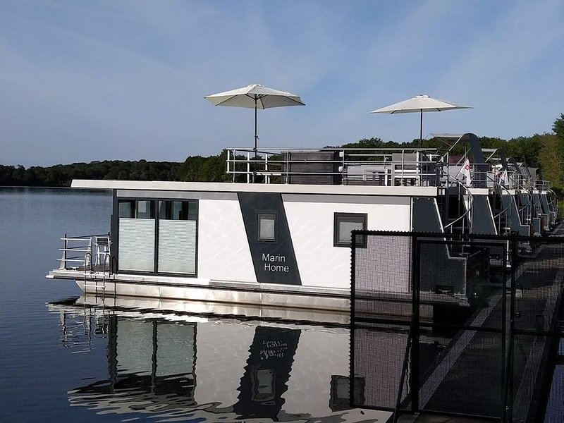 Hausboot Leukermeer in Well / NL, Ferienwohnung in Oostrum