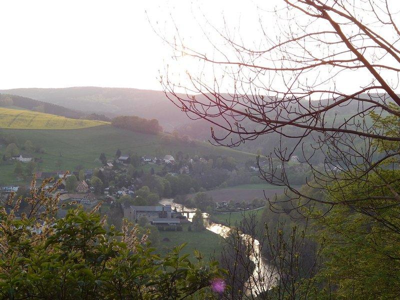 Kunnerstein avec Zschopautalblick