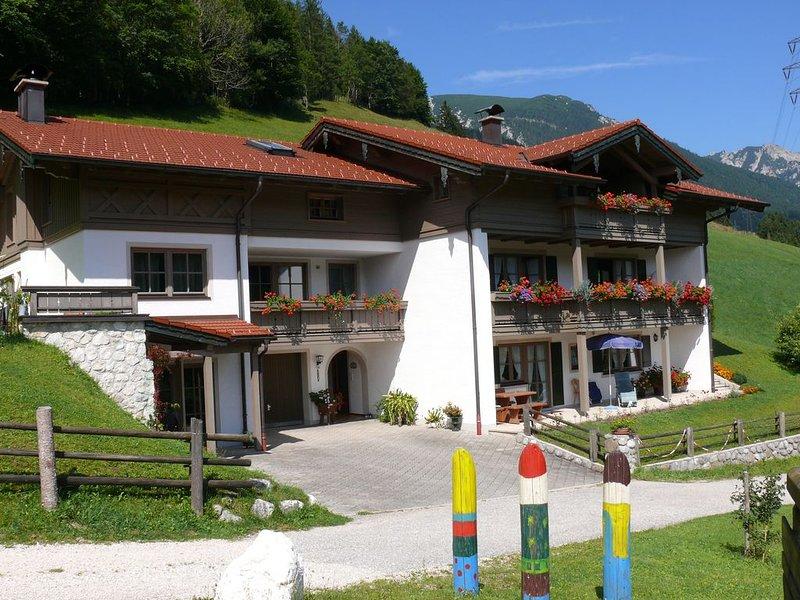 Ferienwohnung  Sonntagshorn, holiday rental in Bayerisch Gmain