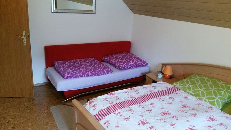 3rd sleeping possibility in the bedroom