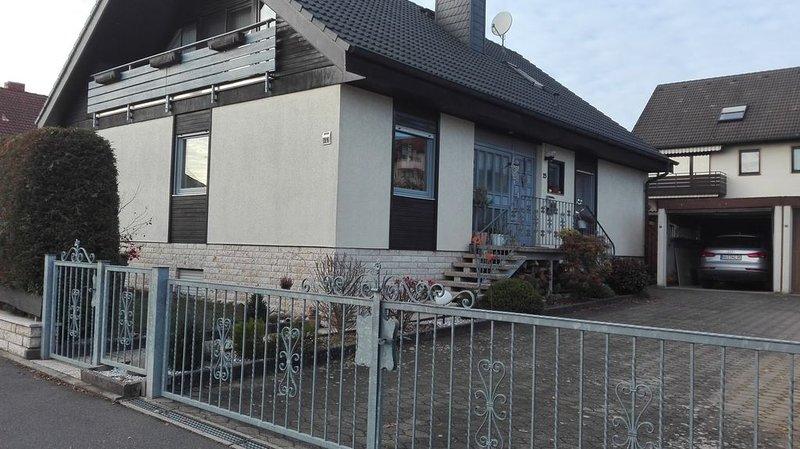 FERIENWOHNUNG Steigerwaldblick, holiday rental in Bad Konigshofen