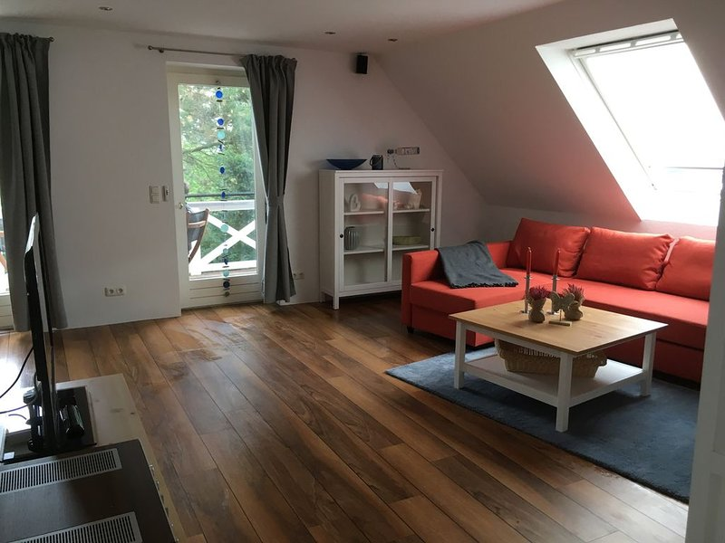 Fehmarn Ferienhaus Backbord, exklusives Oberdeck, holiday rental in Dannemare