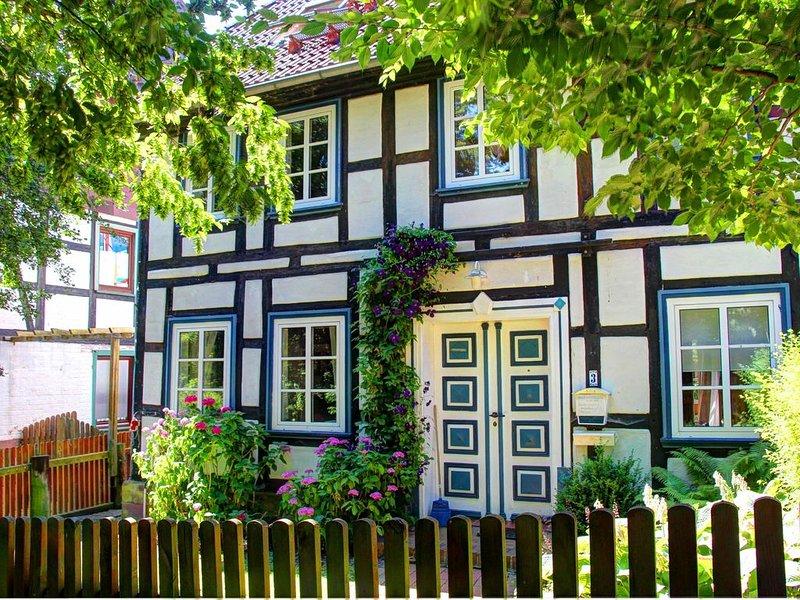 Charmantes Fachwerkhaus auf dem Lande, vacation rental in Delliehausen