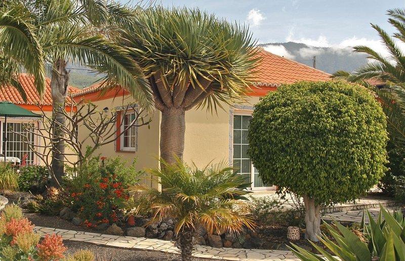 Bungalow unter Palmen mit Meerblick und Kaminofen, casa vacanza a El Paso