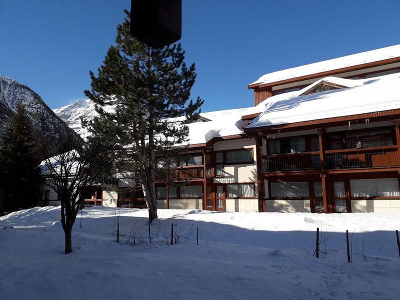 BESANS village de montagne à 1750 m studio 4 personnes, alquiler de vacaciones en Ala di Stura