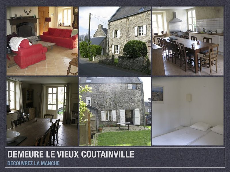 Demeure du vieux coutainville, vacation rental in Agon-Coutainville