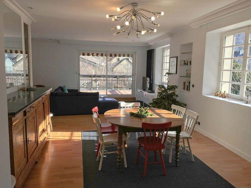 Maison Sécail - 250m² au coeur de Luchon, holiday rental in Saint-Mamet