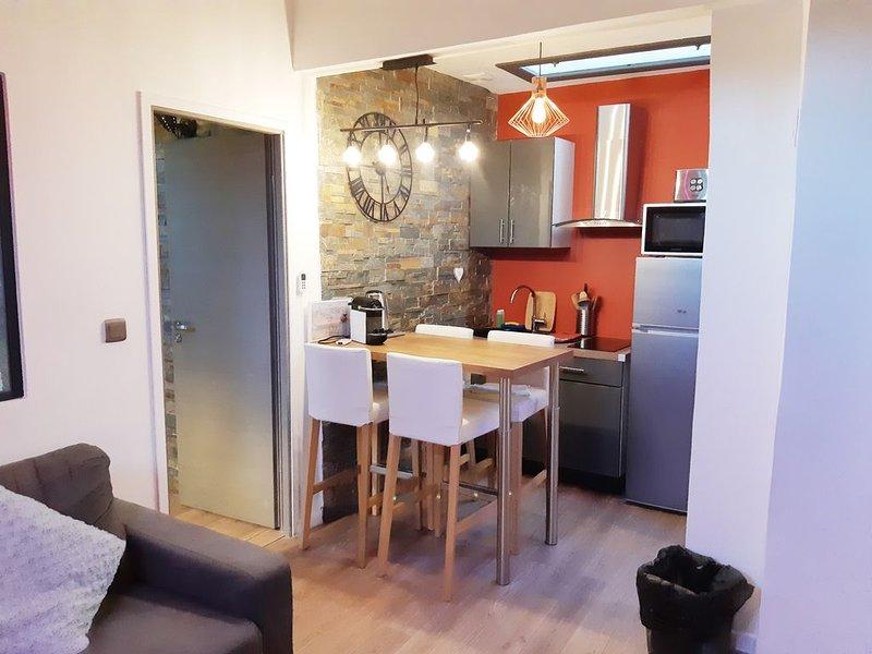 APPARTEMENT DE CHARME PROCHE DU PONT LAFAYETTE POUR 4 PERSONNES, holiday rental in Lyon