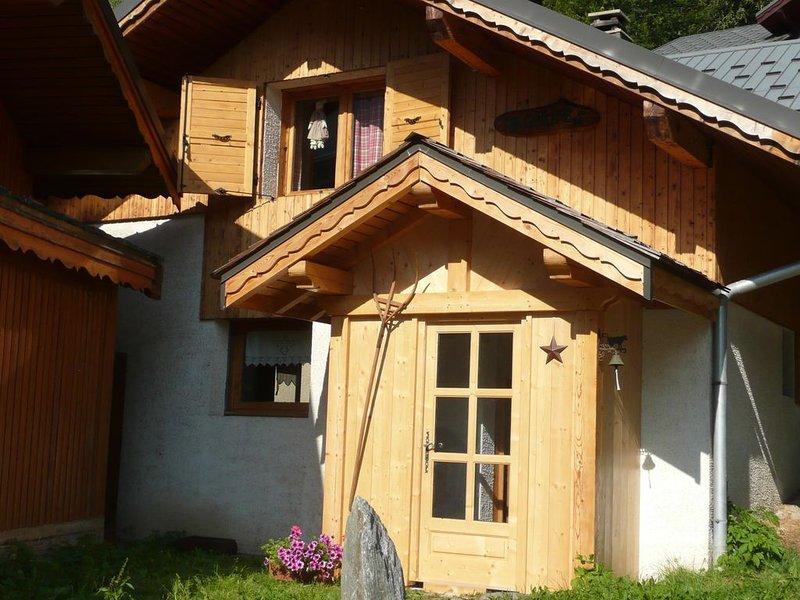 Chalet, Champagny en Vanoise, Domaine La Plagne et Paradiski, holiday rental in Champagny-en-Vanoise