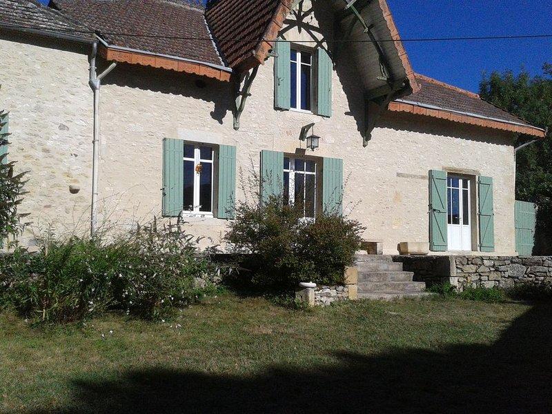 Maison Girondine et Arcachonnaise, holiday rental in Riocaud