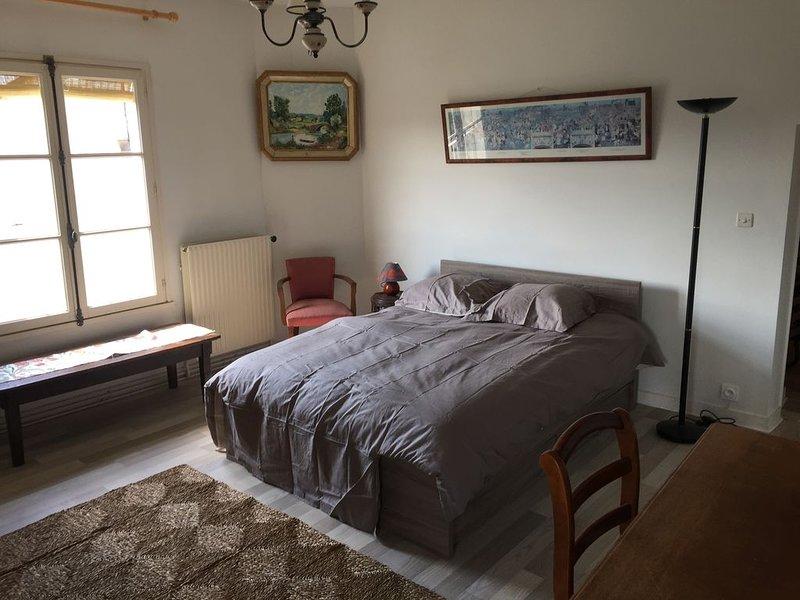Location appartement 2 pièces meublé à CHINON au cœur de la ville médiévale. R+2, vacation rental in Seuilly