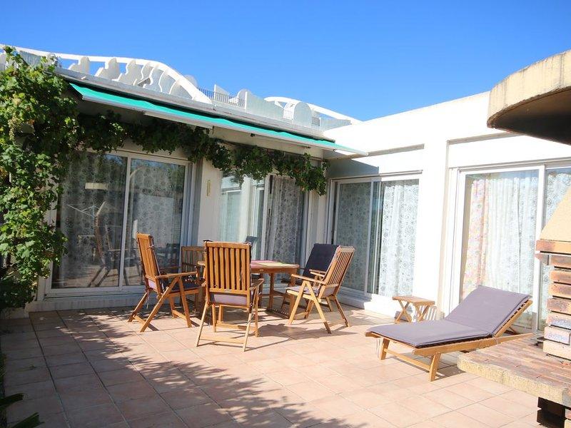 Villa accés direct à la plage, location de vacances à La Grande Motte