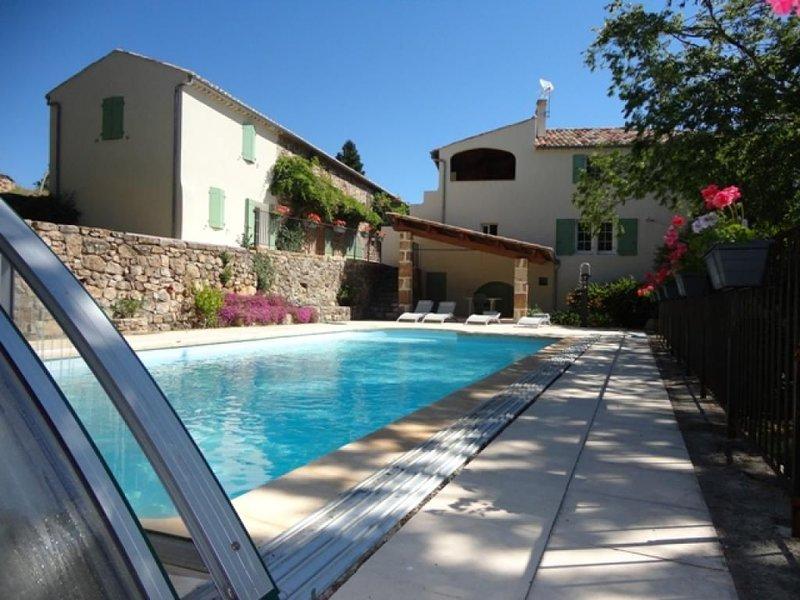La Clède - Gîte *** confort -  Mas en Ardèche, location de vacances à Joyeuse