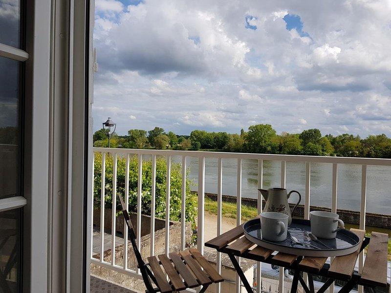 Cottage en bord de Loire sur Chemin Privé à 10 min du Centre Ville. 4p, holiday rental in Saint-Hilaire-Saint-Mesmin