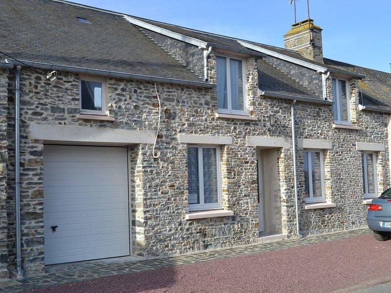 Gite 80 m2 classé 3 * Préfecture. Pour 4 personnes au coeur d'un village côtier, holiday rental in La Haye-du-Puits