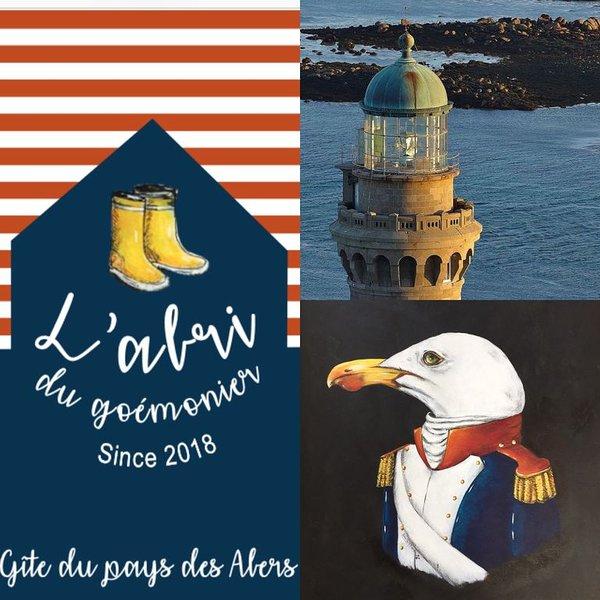 L'abri du goemonier/ Gite en bord de mer entre Lilia et Plouguerneau, holiday rental in Plouguerneau