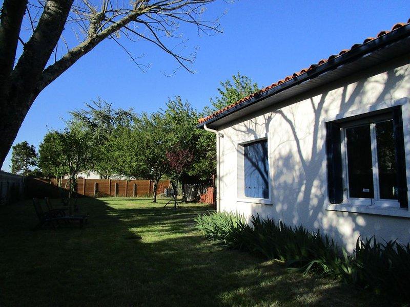 Jolie maison de vacances conviviale avec jardin clos 6 pers., vacation rental in Saint-Palais-sur-Mer