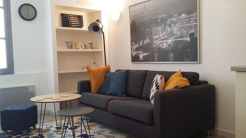 Appartement en ville, aluguéis de temporada em Fourques