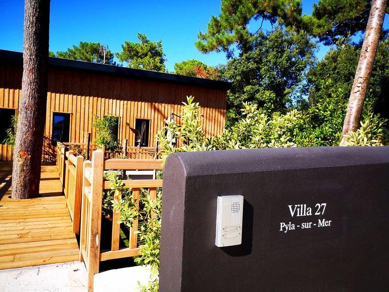 250M de la plage, Appartement en Duplex de 130 M2 , Deux terrasses extérieur ., vacation rental in Pyla-sur-Mer