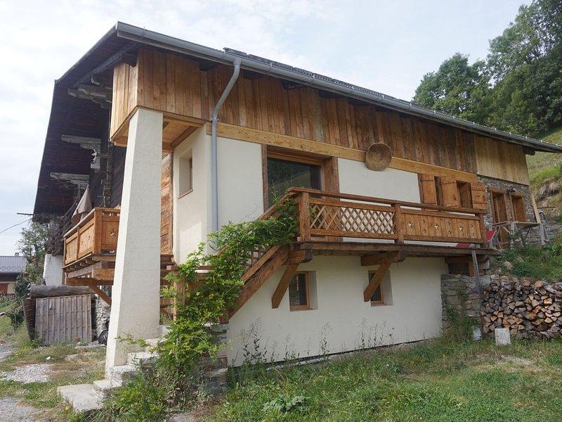La Ferme de Grégory -100m², holiday rental in Praz Sur Arly