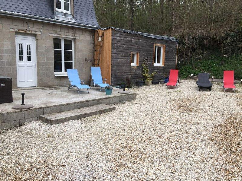 Gîte au calme campagne bord de cher Beauval Chenonceau, alquiler vacacional en La Croix-en-Touraine