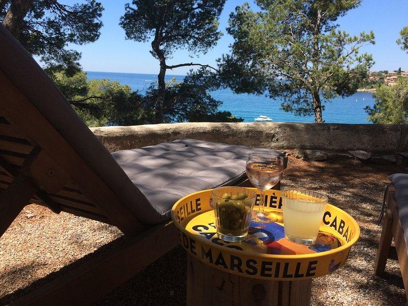 Le cabanon en bord de mer, holiday rental in Carry-le-Rouet