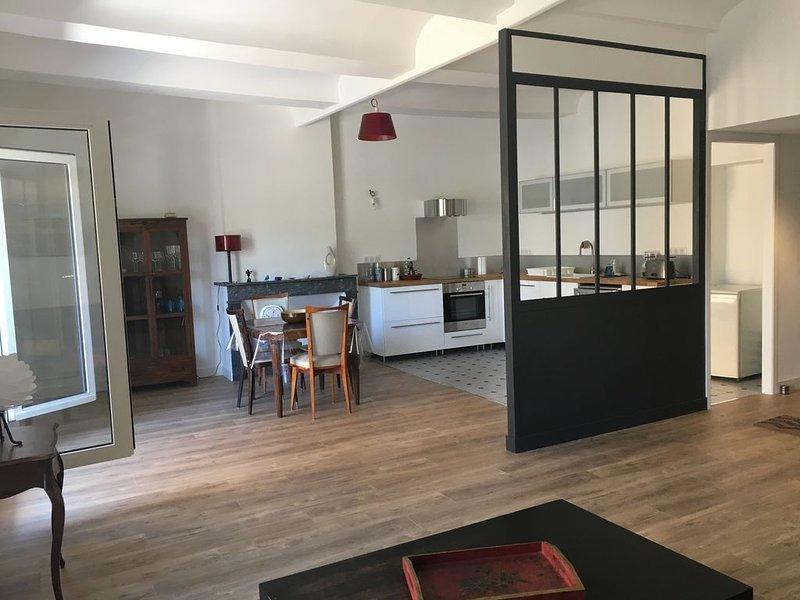 Appartement climatisé en cœur de ville, vacation rental in Les Salelles