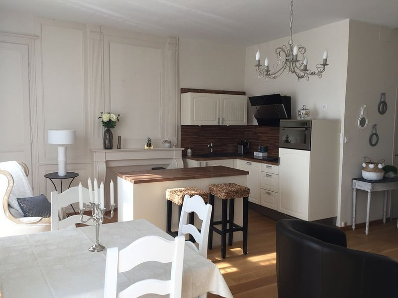 Bel appartement T2 plein centre Dinan, Place DUCLOS, holiday rental in Brusvily