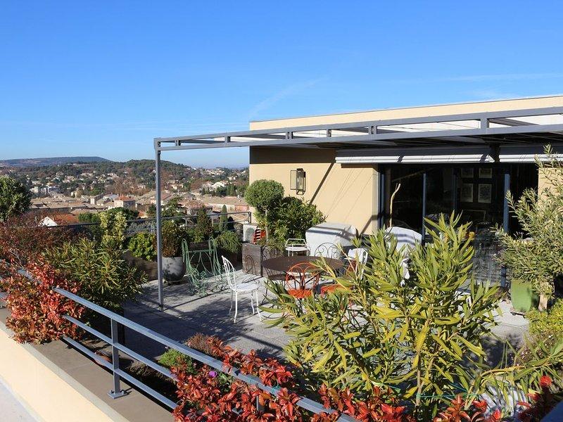 LES TOITS DE VAISON LA ROMAINE, holiday rental in Crestet