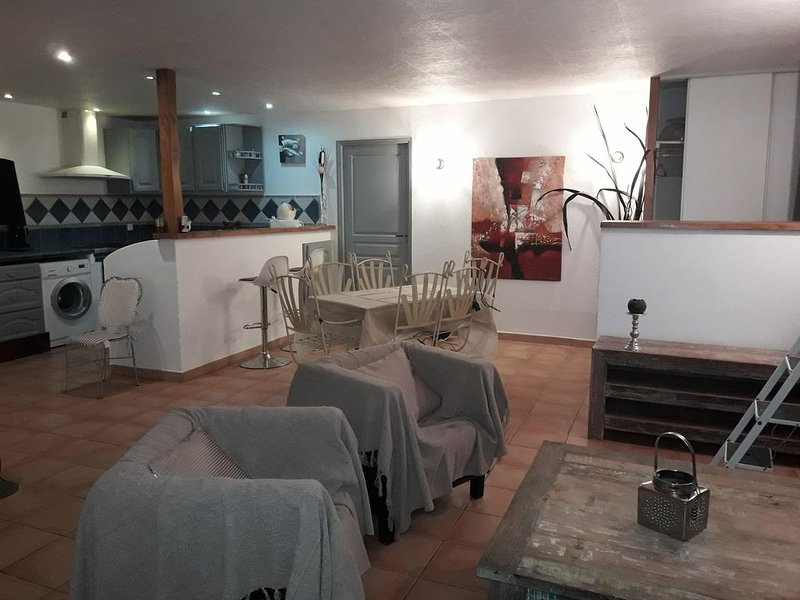 Location cosy aux pieds des Alpilles, holiday rental in Maillane