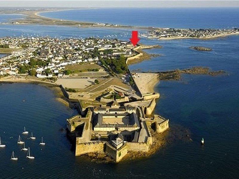 Appartement 2/4 pers face à la mer Port-Louis intramuros - Bretagne sud, casa vacanza a Port-Louis