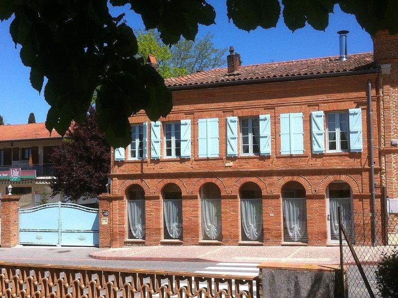 Chambre Bleue des Gîtes des Arcades Labastide Beauvoir, aluguéis de temporada em Montgiscard
