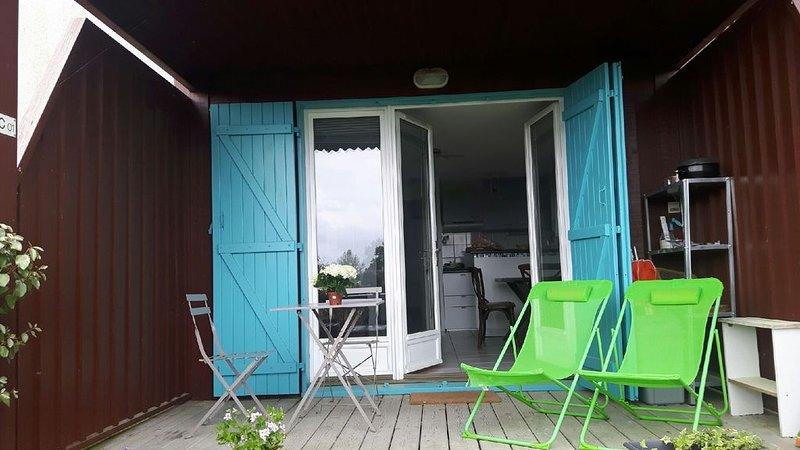 Détente au bord du bassin d'Arcachon, aluguéis de temporada em Le Teich