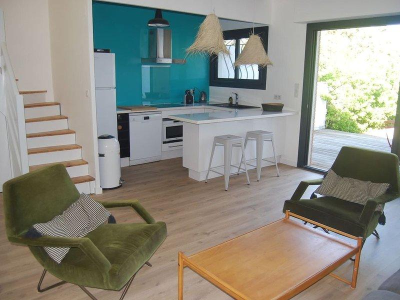 Maison Familiale Rénovée à 200m de la Plage, casa vacanza a Hossegor