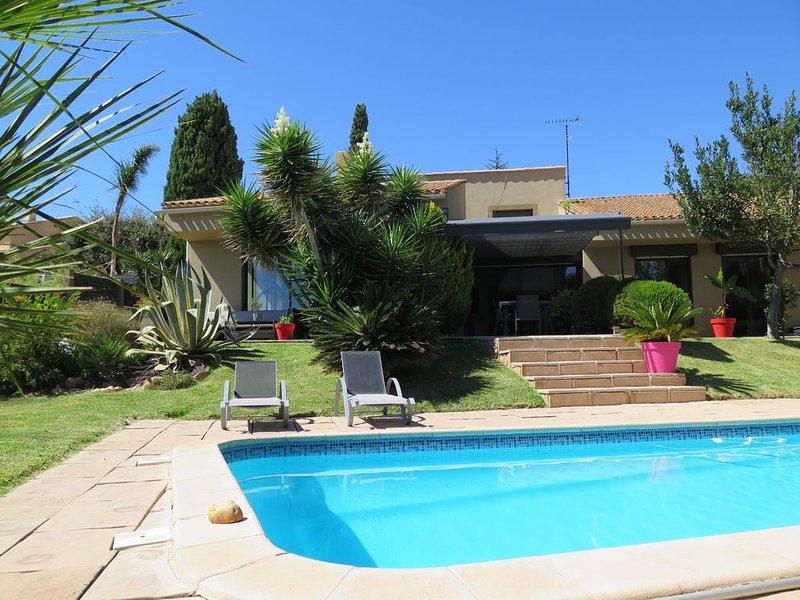 Villa contemporaine de standing 230 m2 ,à 5mn de la plage, location de vacances à La Valette-du-Var