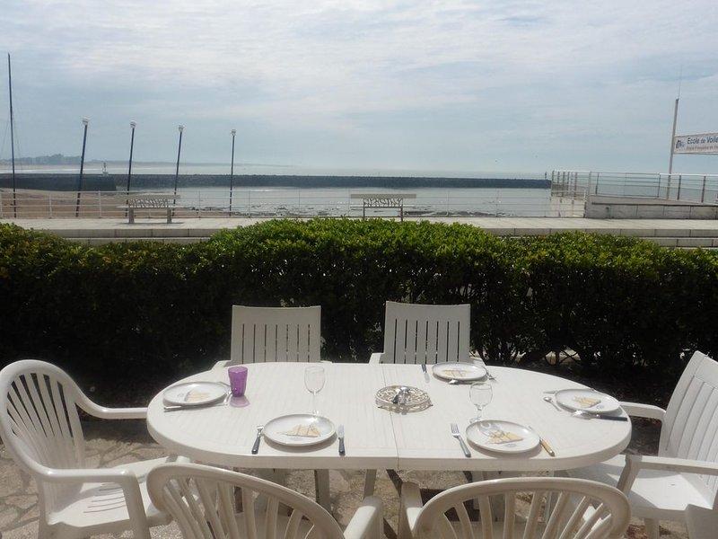 Maison face à la mer à Boivinet - Saint Gilles Croix de vie, location de vacances à Saint-Gilles-Croix-de-Vie